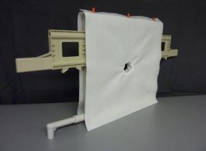 Lona filtrante para filtro prensa