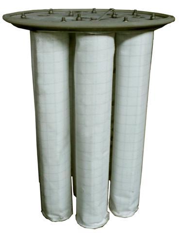 Tecido para filtro de manga
